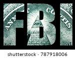 fbi  law and money    Shutterstock . vector #787918006