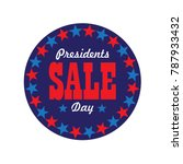 Presidents Day Sale Typography...