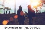 lover women and men asians... | Shutterstock . vector #787994428