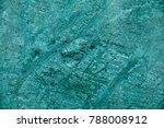 beautiful green marble luxury... | Shutterstock . vector #788008912