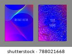 cover design template set with...   Shutterstock .eps vector #788021668