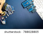 diy arduino board for creating... | Shutterstock . vector #788028805