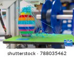 the result of a error on a 3d...   Shutterstock . vector #788035462
