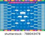 sport fixture and result... | Shutterstock .eps vector #788043478