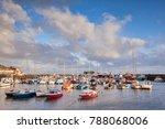 bridlington harbour on a sunny...   Shutterstock . vector #788068006