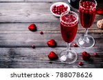 refreshing cocktail with... | Shutterstock . vector #788078626