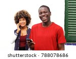 close up portrait of happy man... | Shutterstock . vector #788078686