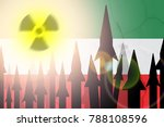 sign of radiation and...   Shutterstock . vector #788108596