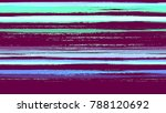 stripes with watercolor grunge...   Shutterstock .eps vector #788120692