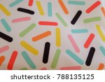 colorful fabric background and... | Shutterstock . vector #788135125