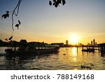 sunrise on the river | Shutterstock . vector #788149168