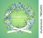 invitation or a greeting card... | Shutterstock .eps vector #78816001