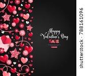 happy saint valentine's day...   Shutterstock .eps vector #788161096