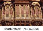 rajasthan heritage building... | Shutterstock . vector #788163058