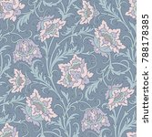 floral seamless pattern.... | Shutterstock .eps vector #788178385