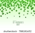 happy st. patrick's day... | Shutterstock . vector #788181652