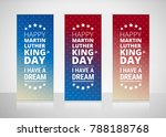 martin luther king jr day... | Shutterstock .eps vector #788188768
