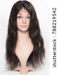 body wavy black human hair made ...   Shutterstock . vector #788219542