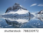 the lemaire channel  antarctic... | Shutterstock . vector #788233972