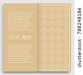 card  invitation  cover... | Shutterstock .eps vector #788248186