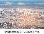 aerial view iceland mountaing... | Shutterstock . vector #788264746