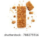 cereal bars or flapjacks made... | Shutterstock . vector #788275516