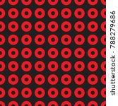 seamless geometric dot and... | Shutterstock .eps vector #788279686