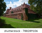 medieval castle complex in... | Shutterstock . vector #788289106