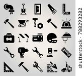 construction vector icon set.... | Shutterstock .eps vector #788293282