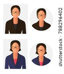 unknown person silhouette with... | Shutterstock .eps vector #788296402
