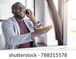 positive african american male... | Shutterstock . vector #788315578