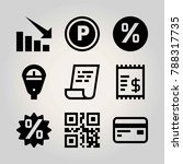 technology vector icon set.... | Shutterstock .eps vector #788317735