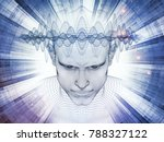 3d rendering   mind field... | Shutterstock . vector #788327122