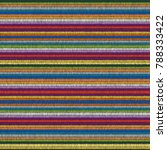 embroidery seamless pattern.... | Shutterstock .eps vector #788333422