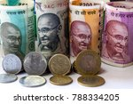 image of indian currency and...   Shutterstock . vector #788334205