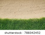 Background Of Green Grass With...