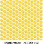 honeycomb seamless pattern | Shutterstock .eps vector #788355412