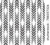 herringbone seamless pattern... | Shutterstock .eps vector #788357326