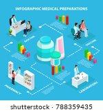 isometric healthcare... | Shutterstock .eps vector #788359435