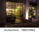 blurred background cafe or shop | Shutterstock . vector #788359882