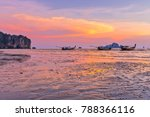 beach and sunset at ao nang... | Shutterstock . vector #788366116