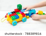 educational toys for the child | Shutterstock . vector #788389816