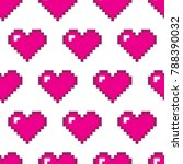 seamless vector pattern with... | Shutterstock .eps vector #788390032
