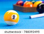 Billiard Pool Game Nine Ball...