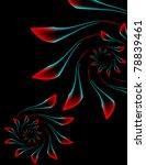 neon rosebuds | Shutterstock .eps vector #78839461