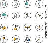 line vector icon set   diet...   Shutterstock .eps vector #788398225