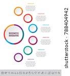 business data visualization.... | Shutterstock .eps vector #788404942