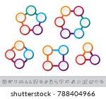 business data visualization.... | Shutterstock .eps vector #788404966