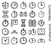 second icons. set of 25... | Shutterstock .eps vector #788409472