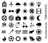 bright icons set of 36